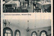 Wissen an der Sieg - Bewirtung / Gastgewerbe / Sieg-Rhein-Germania-Brauerei / Hier werden alte Ansichtskarten und Fotos von Wissens alten Gasthäusern und Wirtschaften gepostet.  Gegen das private Kopieren und Teilen der Bilder habe ich keine Einwände. Das Präsentieren meiner Bilder und Inhalte auf einer eigenen / anderen Internet-Platform erfordert meine Zustimmung. Abkürzungen: AOB = Archiv Oliver Becher /// JMW = Jürgen Maßfeller, Wissen /// gel. 1915 = 1915 postalisch gelaufen (Stempel) /// n.g. = nicht gelaufen / nicht beschriftet.