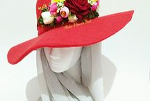 Aida Flower Hat