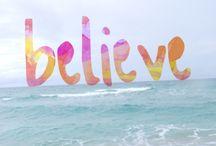 Believe / believe