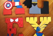 Super Hero Bedroom / Decorating ideas for a Super Hero Bedroom