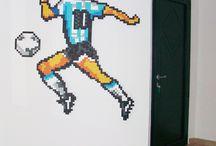 Maradona / ELD10S / Pixel Art