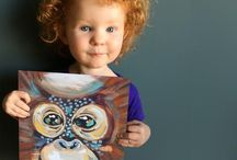 Art Prints - Illustrations and Paint / Gorgeous, captivating artwork with natural themes for the home or the office.