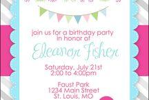 1# compleanno! / idee e pensieri per la festa di Viola