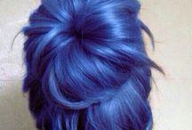 Blue hair goals