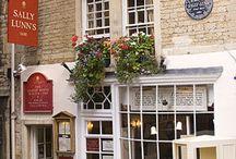Tea shop and cottages