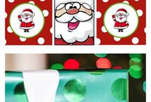 Natale Free Stickers