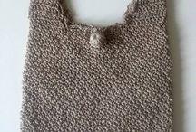 Handmade Crocheted Handbag by NatashasCreationsGR on Etsy / Πλέκτες χειροποίητες τσάντες