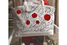 Handbags by @alesnovak74 / Original handpainted by @alesnovak74