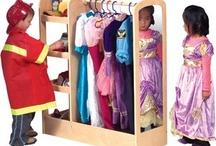 Playroom Ideas / Let their imaginations run wild, but keep it organized.