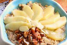 Warm oatmeal / Winter breaky