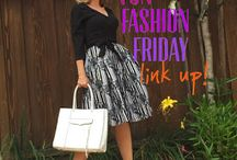 Fun Fashion Friday Link Up Board / Pins from the Fun Fashion Friday link up party, every week at fashionshouldbefun.com. Join us!