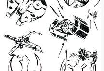 Tatouage Star Wars ✨