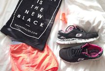 Workout clothes / My fave workout clothes - some my own and some in the wardrobe of my dreams.
