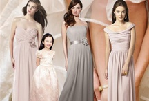 Bridesmaid Dresses Mix & Match Styles / Bridesmaid dresses mix & match styles are fun and vibrant. All dress styles are available at perfectbridal.com / by Perfect Bridal
