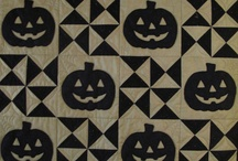 Quilts for Halloween...