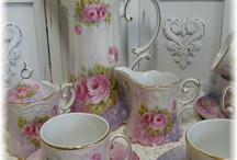 thee kopjes / Antiek en mooi porselijn