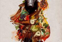illustrations / by Diablo Rubio