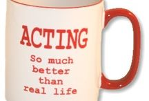 Life Upon the Wicked Stage / Acting: it's so much better than real life.  Here you'll find gifts and inspiration for actors, from Stage Presence (www.stagepresents.co.uk)