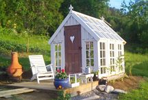 Garden: Greenhouses, Sheds, Coldframes, Etc / by Marcia Elzein