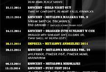 Ciemna Strona Miasta Klub Muzyczny - co jeszcze w 2014 r. / Najmroczniejszy i najcięższy metalowy klub we Wrocławiu.