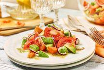 Avocado tomatensalat