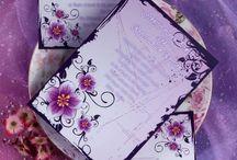 Purple Wedding Invitations / by InvitesWeddings