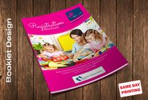 Booklet design / Booklet Designs for catalogues, annual reports, conferences and more