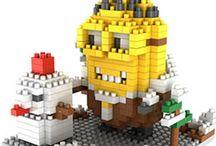 LOZ Mini Blocks Minions / LOZ mini Blocks Minions