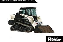 TSL 210 / Tsl 210 Rubber Track Loader For Sale From Mico Equipment. Request A Quote From Us Today By Visiting Our Website.