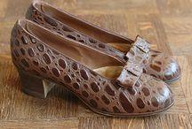Chaussure et sac vintage