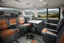 Volswagen multivan / vybavení auta