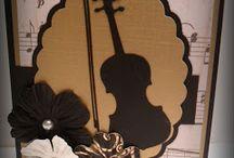 Card Making: Musical Theme