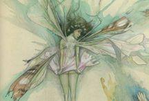 pressed fairies