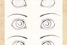 Cute anime eyes