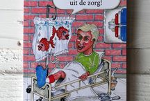 """ZORG Boeken op www.mymitella.nl / Leuke en grappige waargebeurde uitspraken van personeel en patiënten in de zorg  """"DE ZORG"""" heeft naast alle bezuinigingen en regellast ook erg leuke kanten! Dit boekje is een geschikt cadeau voor iedereen die bij de zorg betrokken is."""