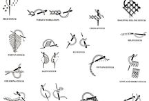 Craft Tutorials: Embroidery, Knot, and Needlework / Tutorials for Embroidery, Knot, and Needlework