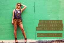 Sarah Whitley 2015 Spring Model Search Winner / All looks can be purchased at WWW.SOUTHERNTRENDS4U.COM!! ALWAYS FREE SHIPPING
