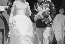 Koninklijke trouwjurken / Royal Wedding Gowns