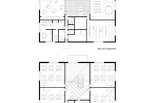 #Arch #Plans / Floor plans of architectural projects and buildings...