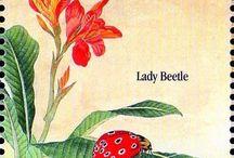 Francobolli insetti