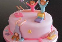 Jimlastik temalı pastalar