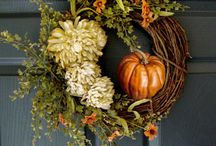 Thanksgiving/Fall Wreath