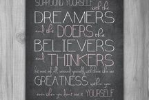 Dreamers and Doers / People who inspire