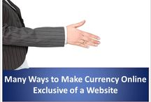 Numerous Ways to Make Currency Online Exclusive of a Website