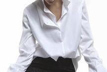 Beyaz gömlekler