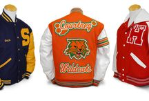 Letterman Jackets from Mount Olympus Awards / Here are some finished letterman jackets and varsity jackets Mount Olympus Awards has made for its customers.