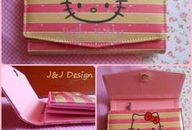 Dompet Motif Cartoon