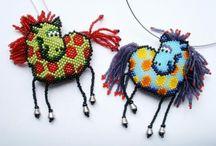 Beaded pendants / by Chris Mace