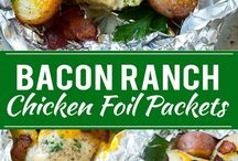 Foil packets meals
