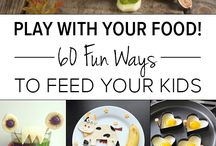 fun food ideas / by Michelle Ballingham